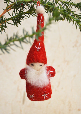 Santa Felt Tree Decoration
