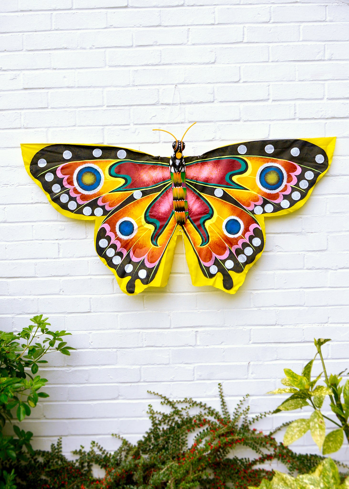 Yellow Butterfly Kite