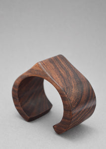Wood Pointed Bangle