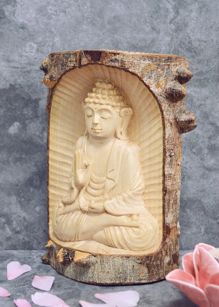 Buddha in Log
