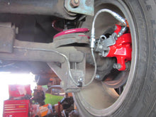 Fiat 124 Spider Big Brake Kit with Red Calipers - Rear Brakes