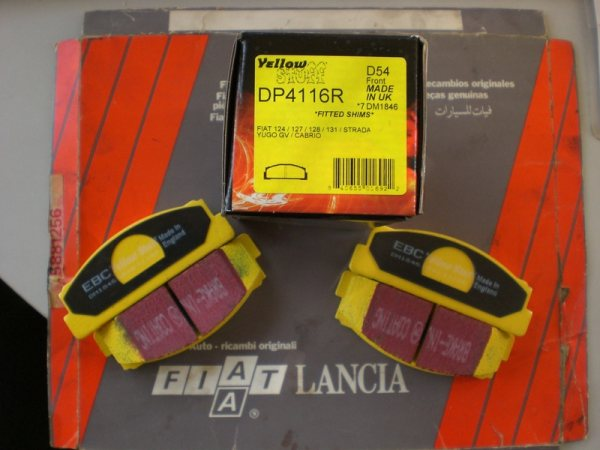 EBC Yellow Stuff Performance Brake Pads (Rear)