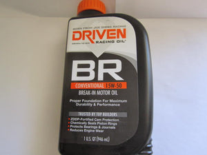 Joe Gibbs Driven Break-In Oil 15/50W.
