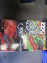 EBC REDSTUFF DISC PADS-REAR, ABARTH, 500