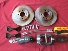 X 1/9 Big Brake Kit with DL10 Pads - Front Brakes