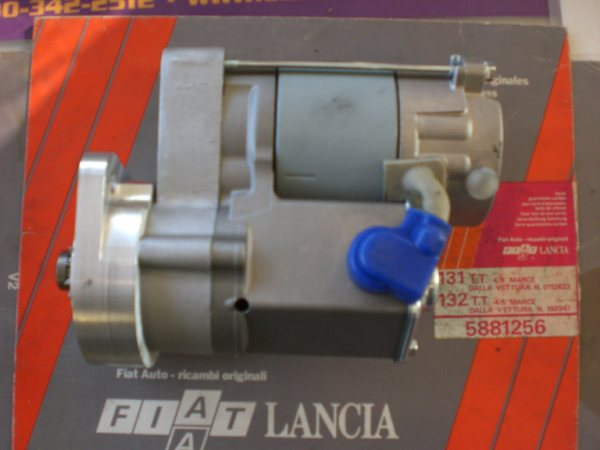 Gear Reduction Starters for the Fiat 850