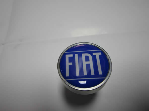 Billet Alluminum Cam Cover Knobs (Blue Fiat)