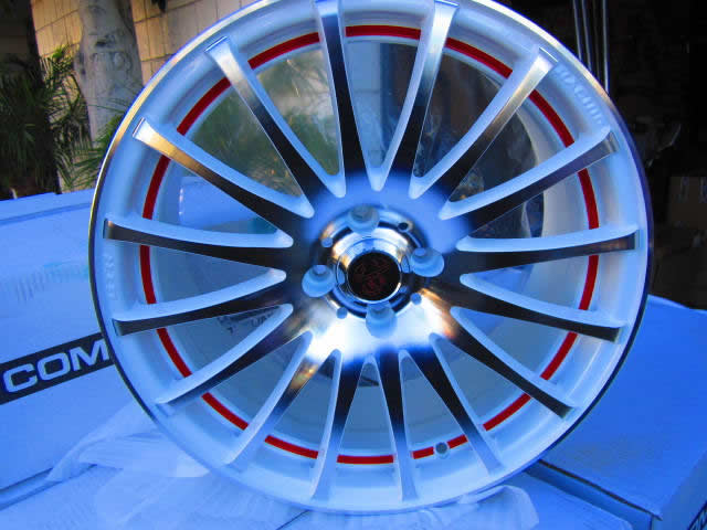 Enzo Wheels - White