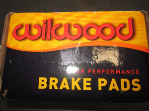 WILWOOD DISC BRAKE PADS FOR BIG BRAKE KIT-RACING PADS.