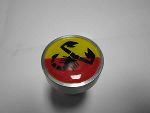 Billet Alluminum Cam Cover Knobs (Red/Yellow Abarth)