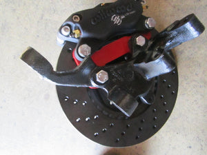 FIAT 131 BIG BRAKE KIT-WILWOOD CALIPERS, DL 20 DISC PADS