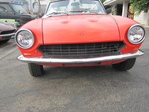124 Spider Bumper Kit-69-73, Retro fit kit for 74-85 Spiders