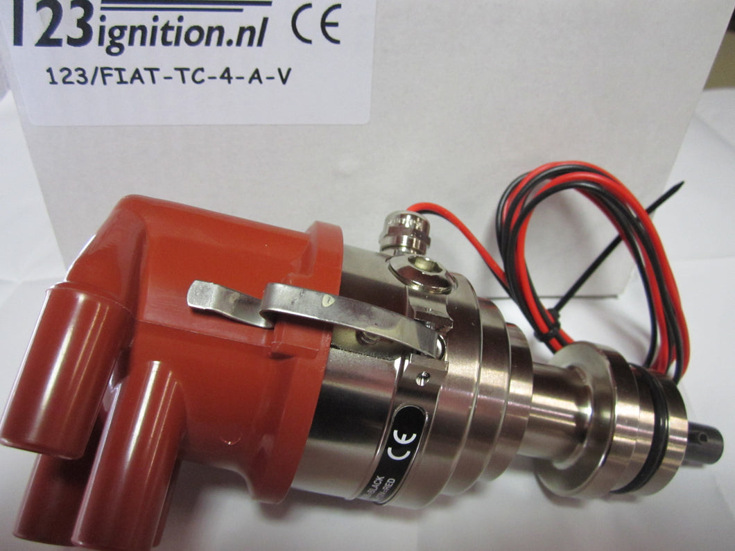 123 Ignition Distributor, Spider.  TC-A-V