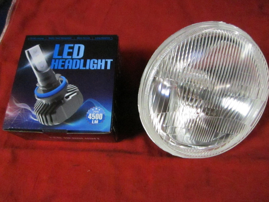 LED Headlamps, Pair