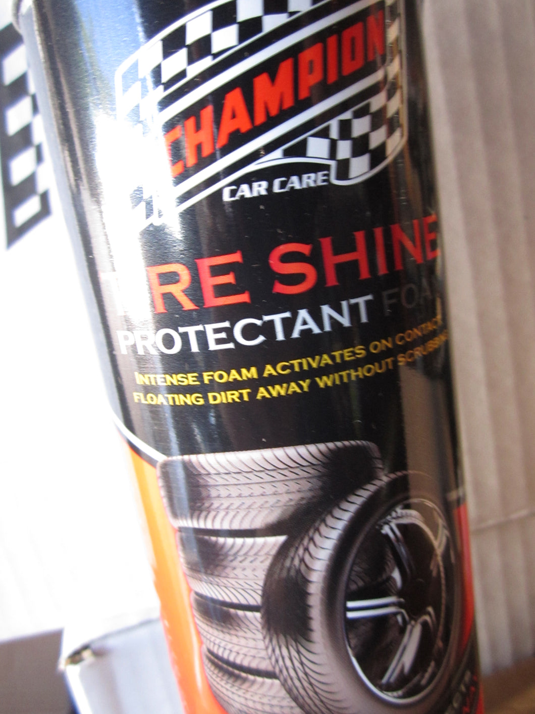 Champion Tire Shine Foam Protectant