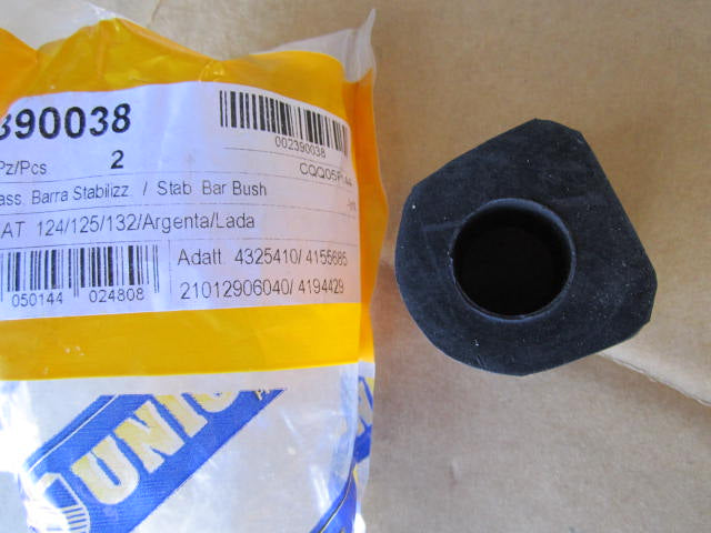 Sway Bar Bushing, Outer, OEM rubber