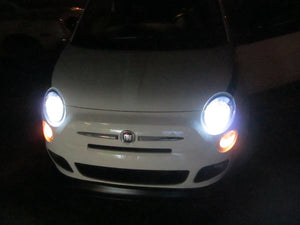 Fiat 500 HID Light Kit - 8000k