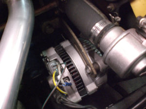 Fiat Spider 95 Amp Alternator Conversion
