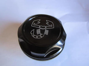 Billet Aluminum Oil Filler Cap - Black