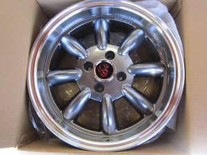 Competizone Sport Tuning Monza Wheels - 15 x 6.5 Gunmetal, set of 4