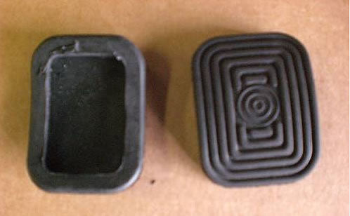 Fiat 124 Spider Pedal Pads