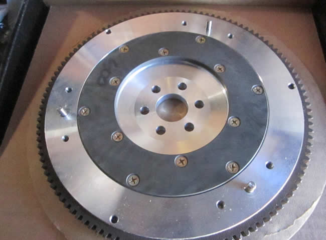 Aluminium Flywheel for the Fiat 850 Spider