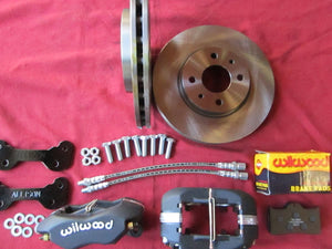 X 1/9 Big Brake Kit with DL20 Pads - Front Brakes