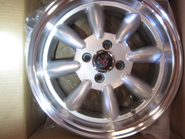 Competizone Sport Tuning Monza Wheels - 15 x 6.5 Silver, set of 4