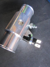 Billet Aluminum Water Outlet with Bleeder & Fan Switch