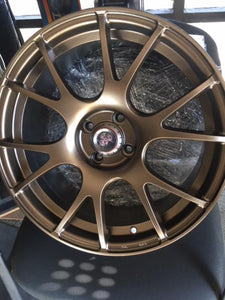 CV2 Wheels, Triple Bronze Powder Coated, 17x7.5, Set of 4