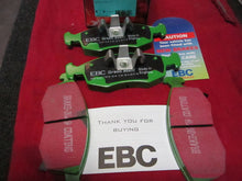 EBC Green Stuff Disc Brake Pads (Front Brakes)