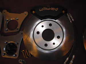 Wilwood Big Brake Kit for the 124 Spider with DL20 Pads