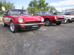 Fiat Spider Lowering Springs