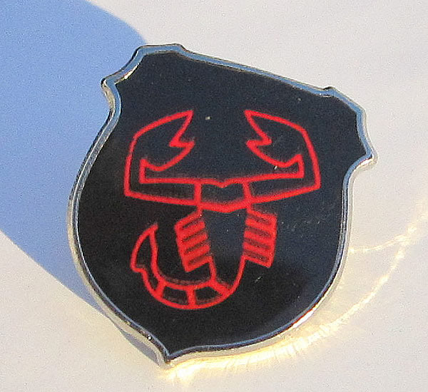 Abarth Scorpion Lapel Pin / Tie Tack