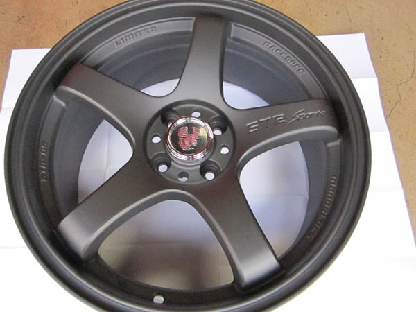GTR Wheels - Flat Black
