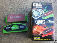 EBC Green Stuff Performance Brake Pads (Rear)