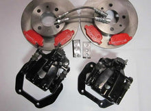 Fiat 124 Spider Big Brake Kit with Black Calipers - Rear Brakes