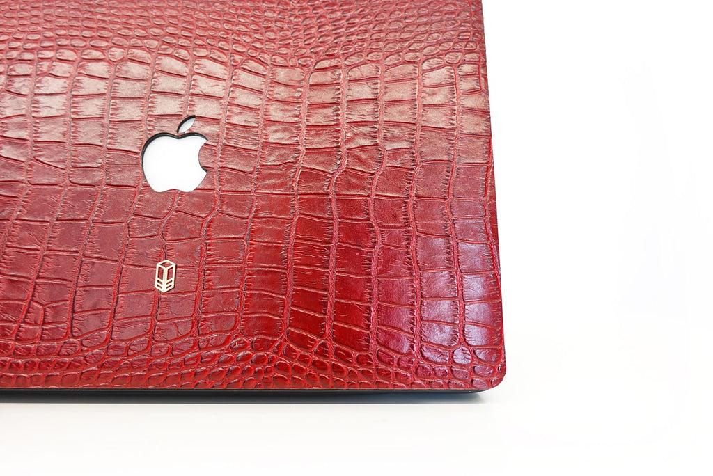 Crocodile skin Macbook case
