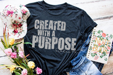 Created With A Purpose Women's Tee