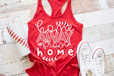 Home Away From Home Baseball Women's Tank