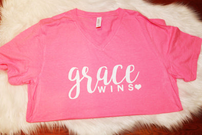 Grace Wins Adult Tee