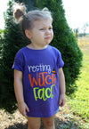 Resting Witch Face Kids Graphic Tee