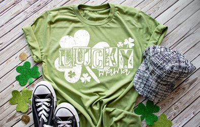 Lucky Mama St. Patricks Day Women's Tee