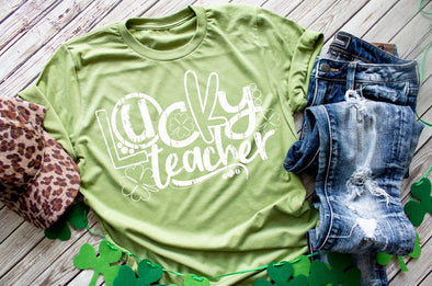 Lucky Teacher St. Patricks Day Women's Tee