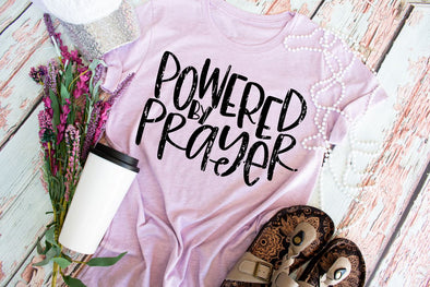 Powered By Prayer Women's Tee