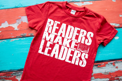 Readers Make Leaders Youth Tee