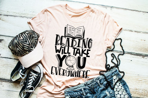 Reading Will Take You Everywhere Women's Tee