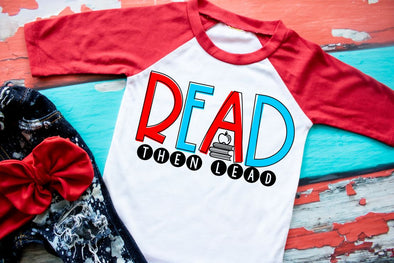 Read Then Lead Youth Raglan