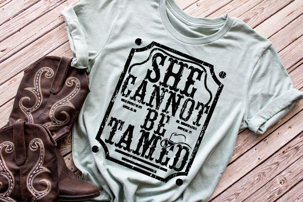 She Cannot Be Tamed Women's Tee