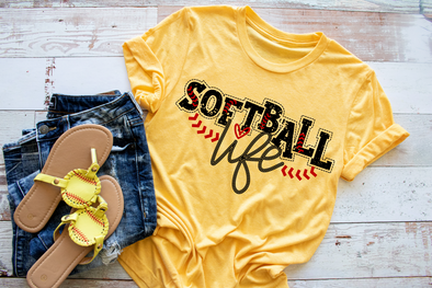 Softball Life Women's Tee